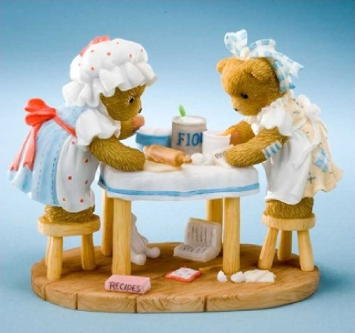 Enesco Cherished Teddies Figurine Cooking Up Some Fun Camy e Emmie 2011/Club Mof