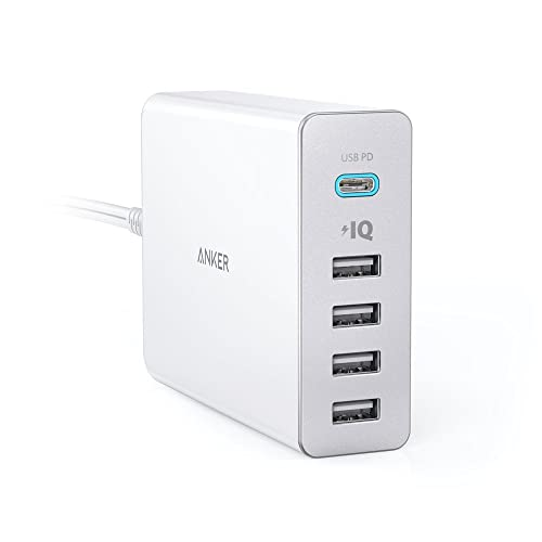 Anker PowerPort+ 5 USB-C Power Delivery(ホワイト)