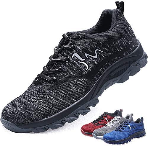 MAKEIIT Steel Toe Sneakers for Men