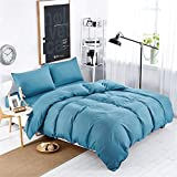 YJXUSHYQ Bedding Sets of Duvet Cover Duvet Cover 2 Pillowcases Single Double King Size Bed Easy Care Single 135x200CM Quilt Set (Color : 220 cm230 cm)