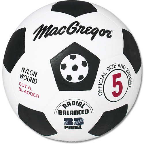 MacGregor Rubber Soccer Ball, Size -