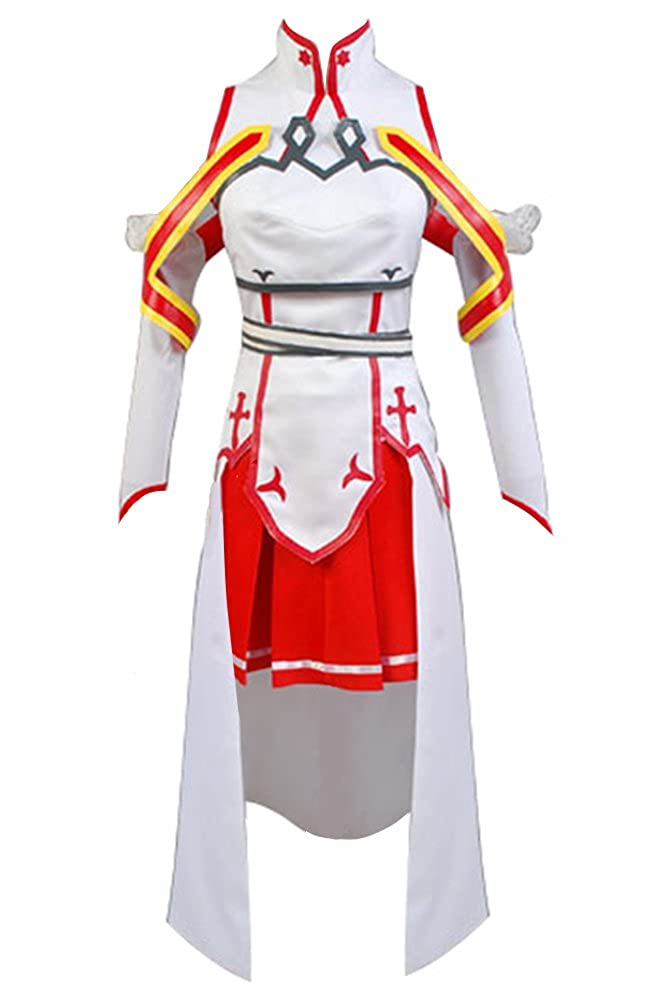 Disfraz de Cosplay de Asuna de Sword Art Online: Amazon.es: Ropa y ...