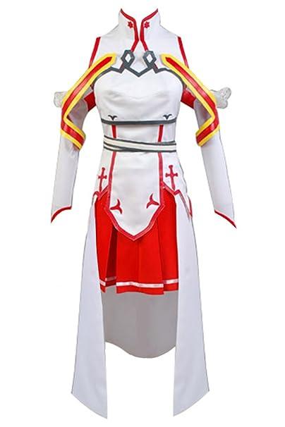 Disfraz de Cosplay de Asuna de Sword Art Online