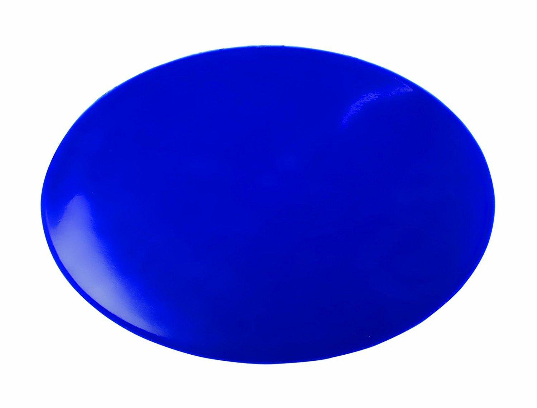 Dycem Non-Slip Pad, Blue, Plain Round, 10'' Diameter x 1/8''