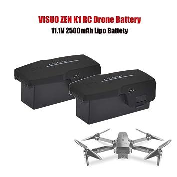 Yiwa Visuo Zen K1 GPS RC Drone Batería 11.1V 2500mAh Batería de ...