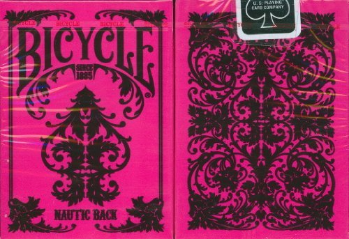 Bicycle Nautic Back Playing Cards in - Cards Pink Playing