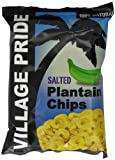 Village Pride Plantain Chips Salted 75 g (Pack of 24)
