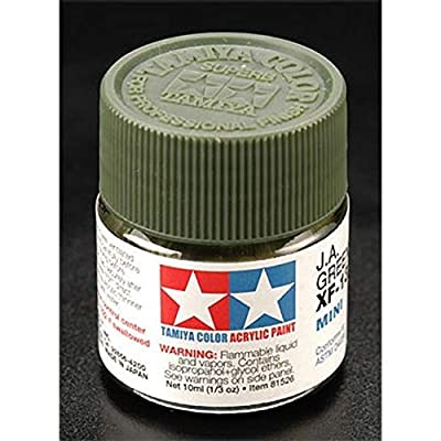 TAMIYA 81713 Acrylic Mini XF13 JA Green 1/3 oz: Toys & Games