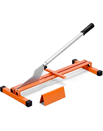 Goplus Vinyl Floor Cutter Laminate Flooring Cutter Hand Tool V-Support Wood Planks Heavy Duty