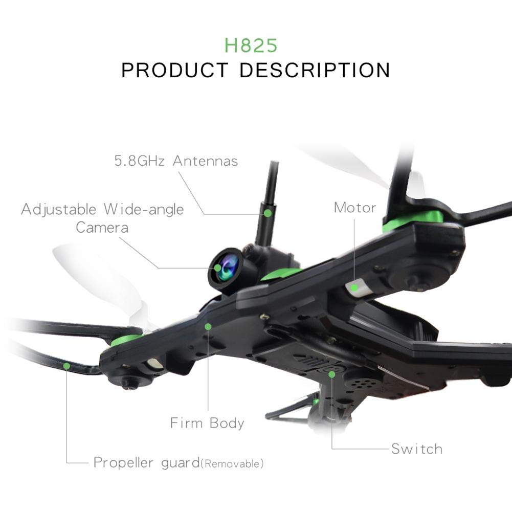 heresell Drone RC Quadcopter 3D 360 Grados FPV Video WiFi Soporte ...