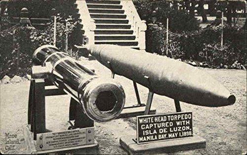 aptured with Isla de Luzon, Manila Bay, May 1, 1898 Original Vintage Postcard (Torpedo Head)
