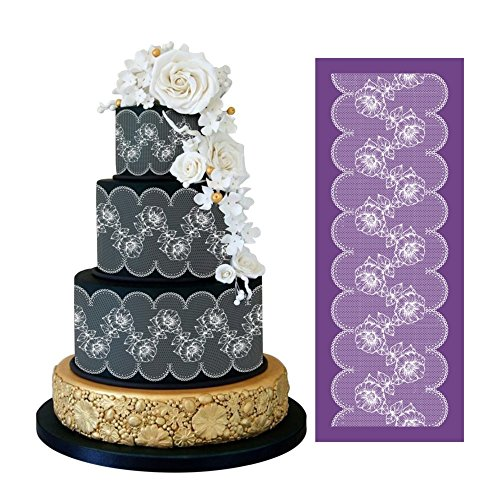 cake stenciling molds