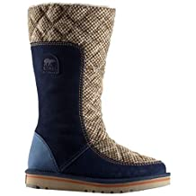 Sorel Women's Leather and Suede The Campus Boots