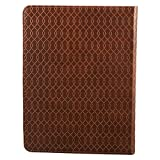 Christian Art Gifts Tan Faux Leather Journal | For
