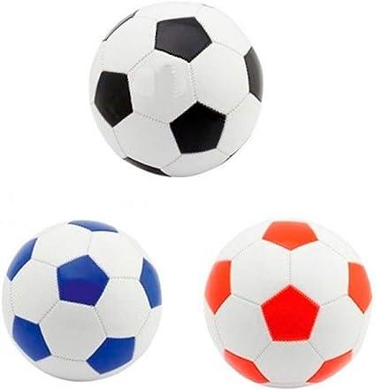 DISOK Lote de 15 Balones de Fútbol Pelotas Tamaño FIFA 5. 280 gr ...
