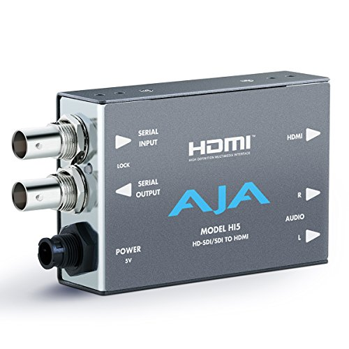 AJA Hi5 HD-SDI/SDI to HDMI Video and Audio Converter ()