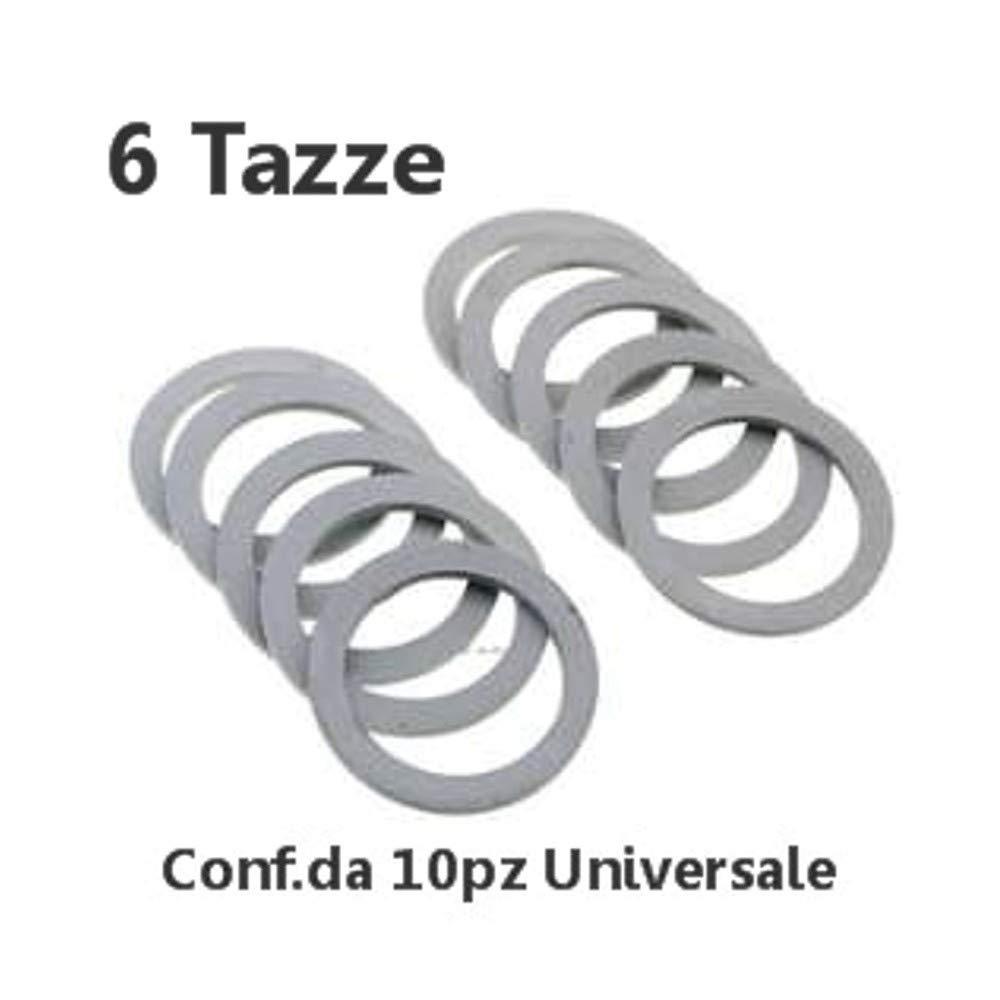 Acquisto Conf.10pz Guarnizione Gomma Caffettiera Moka 6 Tazze Universale Prezzi offerta