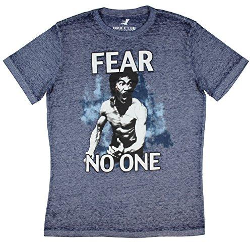 Bruce Lee Fear No One Graphic T Shirt   Medium