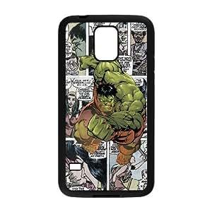 Samsung Galaxy S5 Phone Case Black Marvel comic HOD536996