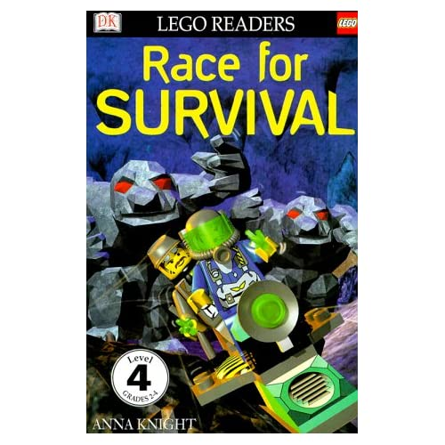DK LEGO Readers: Race for Survival (Level 4: Proficient Readers) Marie Birkinshaw and Roger Harris