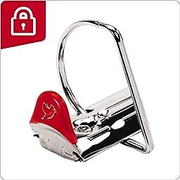 Cardinal Performer ClearVue Locking Slant-D Ring Binder, 4-Inch, White (19050)