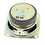 Aexit Multimedia 3W Speaker Repair 3 Watt 4 Ohm 52mm Dia Aluminum Internal Speaker Repair Accessories Magnet Speaker