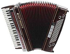 Alpenklang Pro acordeón IV/96 MHR, palisandro