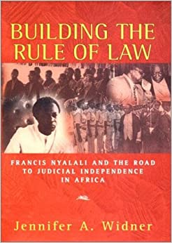 Book Building the Rule of Law
