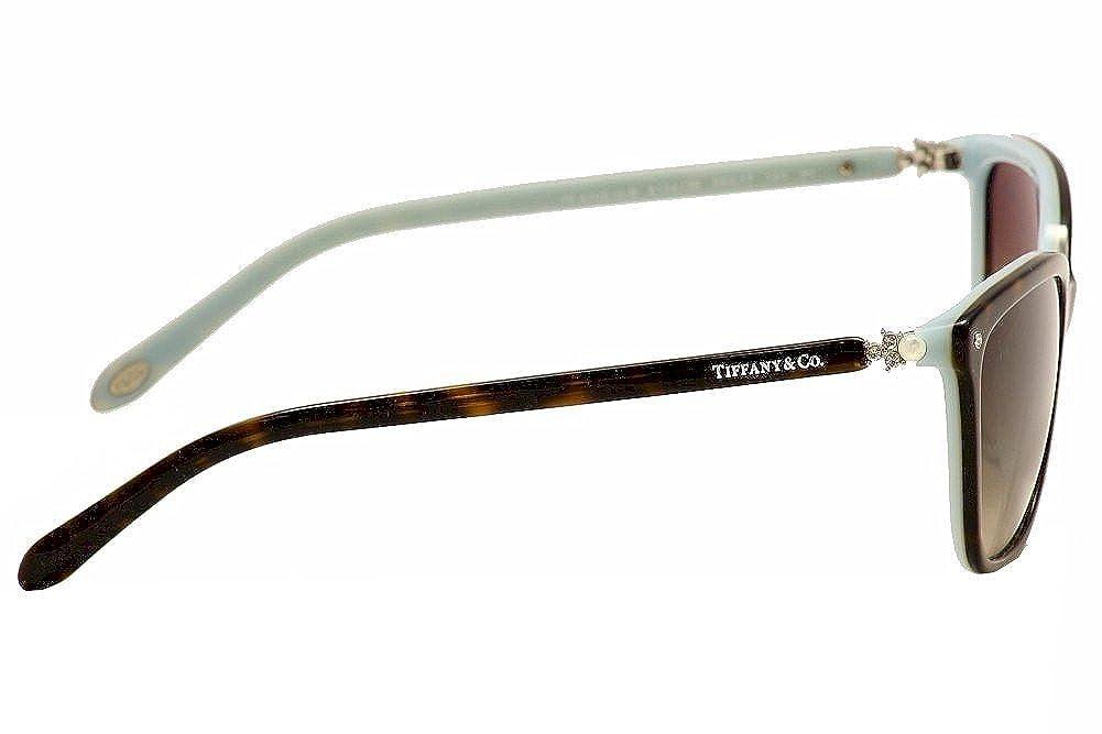 ff26b69a199 Amazon.com  Tiffany TF4105HB 8134-3B Tortoise TF4105HB Cats Eyes Sunglasses  Lens Category 3  Tiffany  Clothing