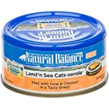 Natural Balance Delectable Delights Land n Sea Cat-serole Pate Formula Adult Cat Food, My Pet Supplies