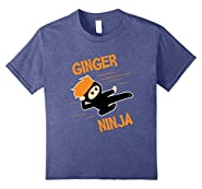 Funny Ginger Ninja T-shirt Ginga Red Hair Meme Quote Gift #2