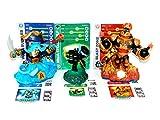 Skylanders Swap Force LOOSE Blast Zone, Wash Buckler, & Ninja Stealth Elf Set Includes Card Online Code