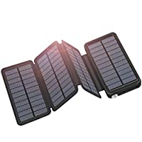 ADDTOP Solar Charger Solar Power Bank