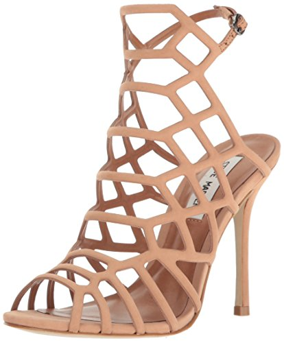 Steve Madden Women's Slithur Dress Sandal Tan Nubuck 10 M US