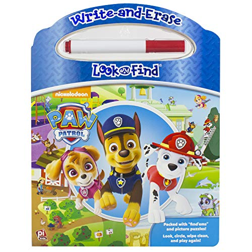 Price comparison product image Nickelodeon - Paw Patrol - Write-and-Erase Look and Find