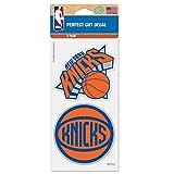 NBA New York Knicks 65438011 Perfect Cut Decal (Set of 2), 4' x 4'