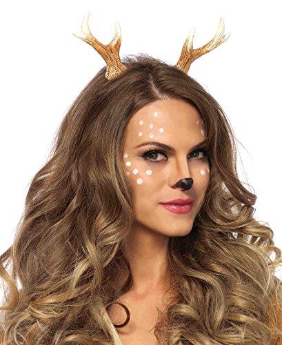 [Leg Avenue Fawn Horn Headband - Brown - One Size] (Fawn Costume Headband)