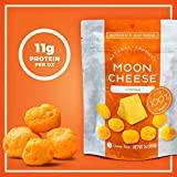 Moon Cheese - 100% Natural Cheese Snack - Cheddar - 2 oz - 12 Pack