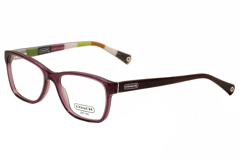 Coach Eyeglass Frames Julayne : Coach HC603 5043/ Julayne Burgundy Plastic Eyeglasses With ...