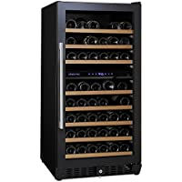 (DR) NFINITY PRO M Dual Zone 94-Bottles Wine Cellar, Wine Cooler w/ Full Glass Door (S1011)