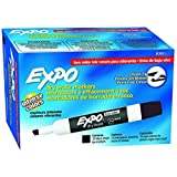 SANFORD L.P. EXPO 2 LOW ODOR DRY ERASE MARKER (Set of 3)