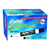 SANFORD L.P. EXPO 2 LOW ODOR DRY ERASE MARKER (Pack of 3), 12 markers per pack