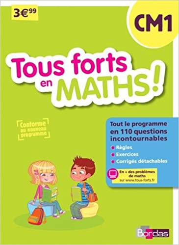Livres Tous forts en Maths CM1 - Nouveau programme 2016 epub, pdf