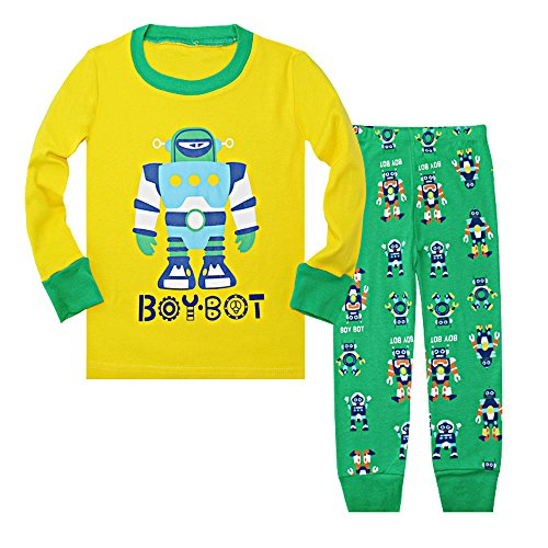 Yellow Boys Pajamas - 6