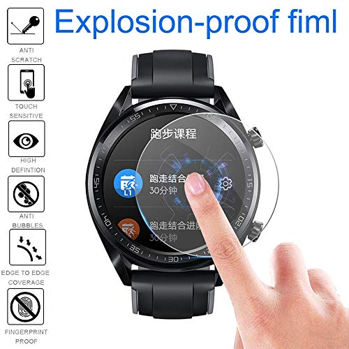 Price comparison product image Shaoshao 5PCS Huawei Watch GT Explosion-proof TPU Screen Protector Full Coverage Film
