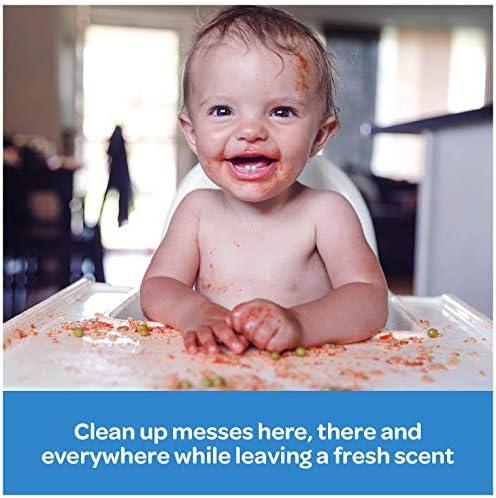 51YFLnIt eL. AC - Huggies Simply Clean Unscented Baby Wipes, 11 Flip-Top Packs (704 Wipes Total)