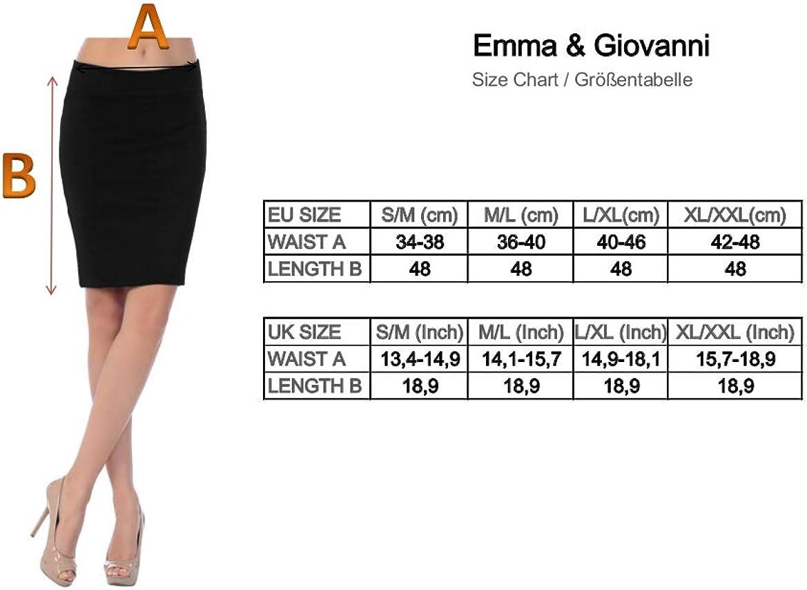 Donna Gonna Corta Aderente Emma /& Giovanni