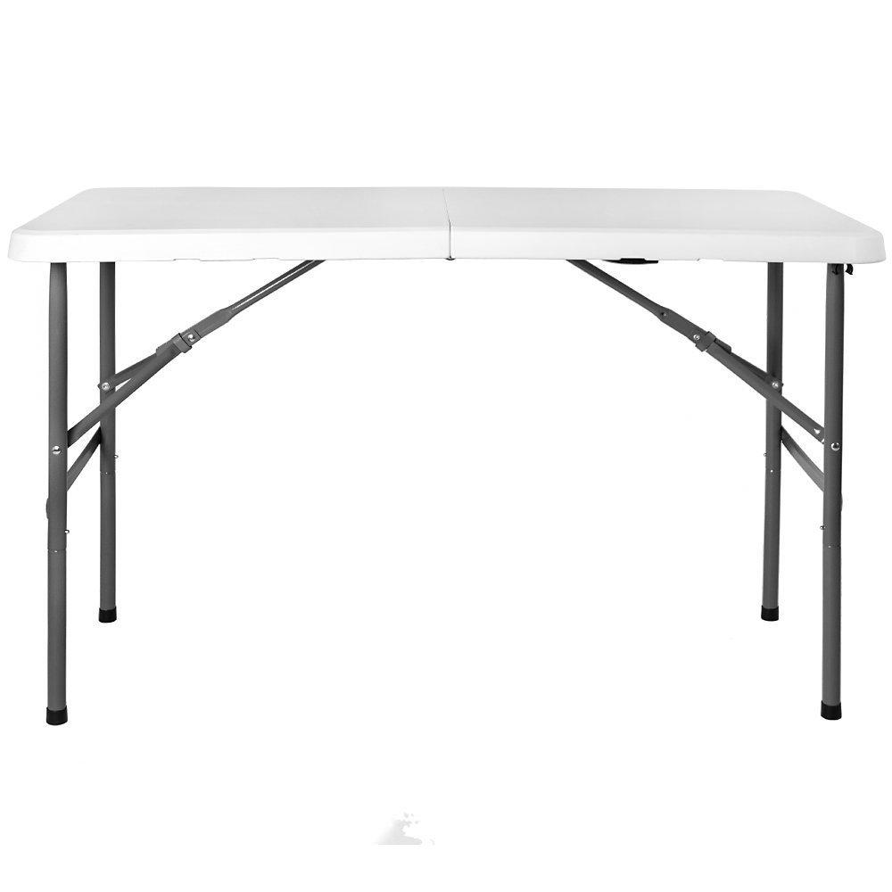 Folding 4ft-5ft-6ft Trestle Table Garden Furniture Camping Picnic Kitchen Kids Playroom Accessories (4ft) Shop Smart