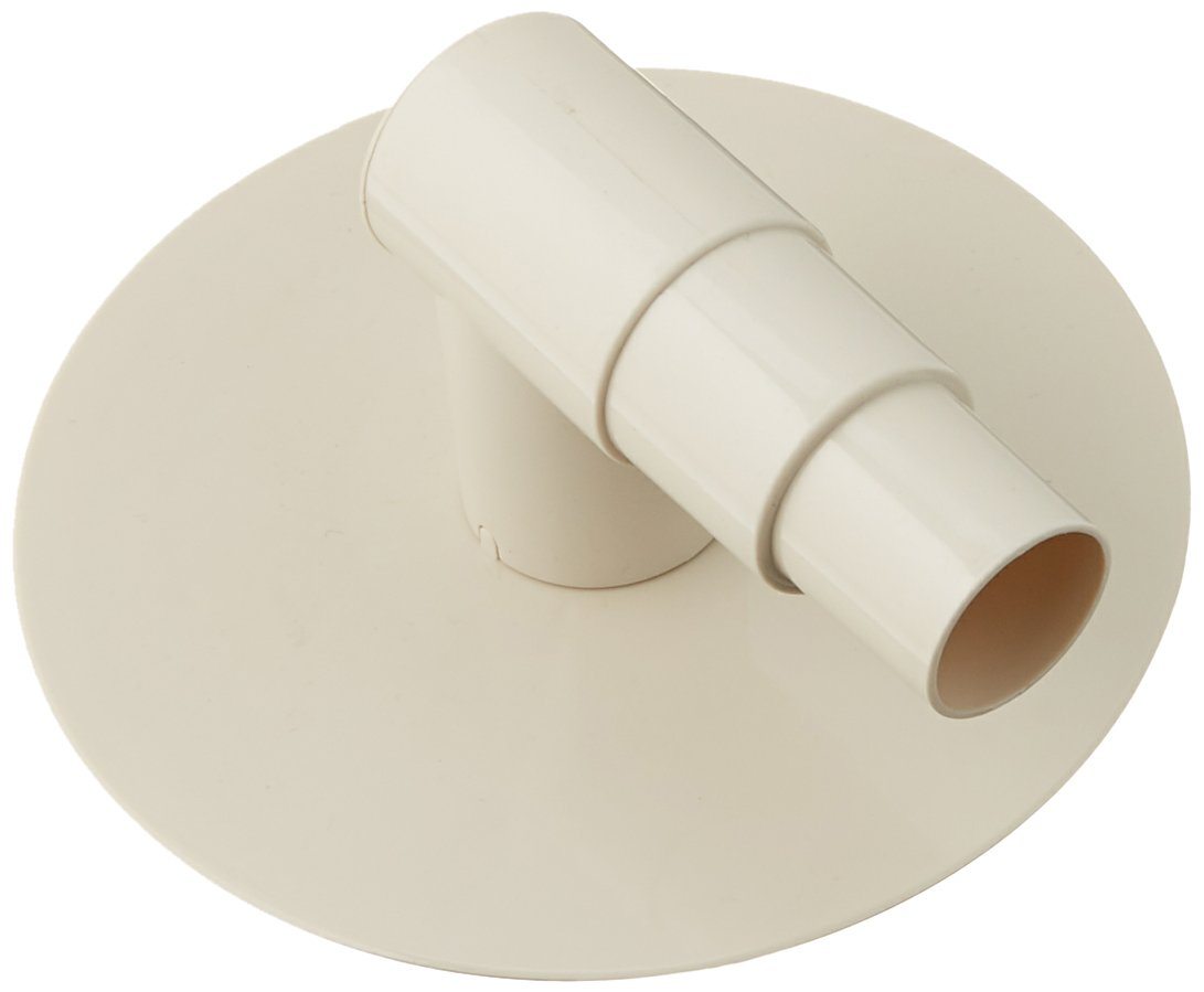 HydroTools by Swimline Oly Replacement Elbow & Plate Low Profile Skimmer Vac Adaptor, White