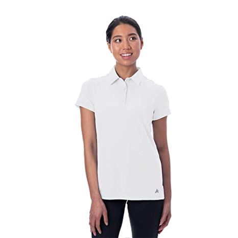 9ace23bf Arctic Cool Women's Instant Cooling Short Sleeve Polo Performance Tech  Breathable UPF 50+ Sun Protection Moisture Wicking Comfortable Golf Quick  Drying Top